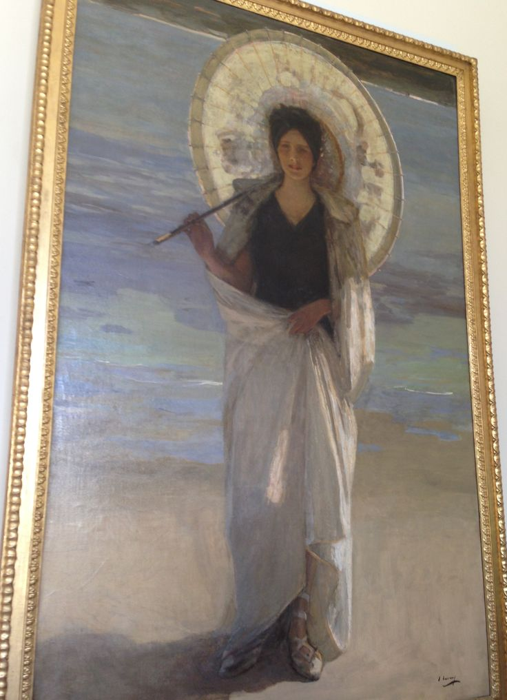 Rodin musee: Summer by John Lavery (1904): I like the pale ...