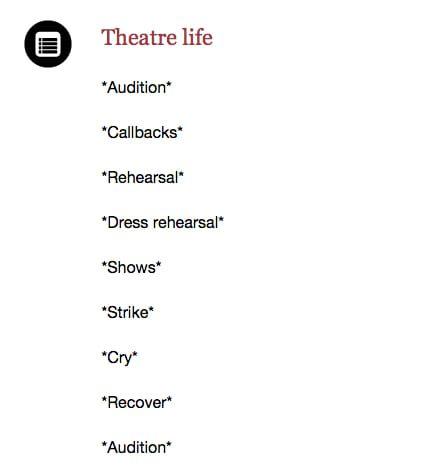 23 Reasons Why Your Theatre Family Is The Only Family You Need