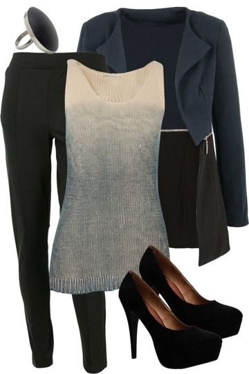 This modern day womens outfit will take you from work to the streets. With a mix of materials and colour your sure to stand out and show off a stunning fashion trend. Love, Georgia and the birdsnest girls x