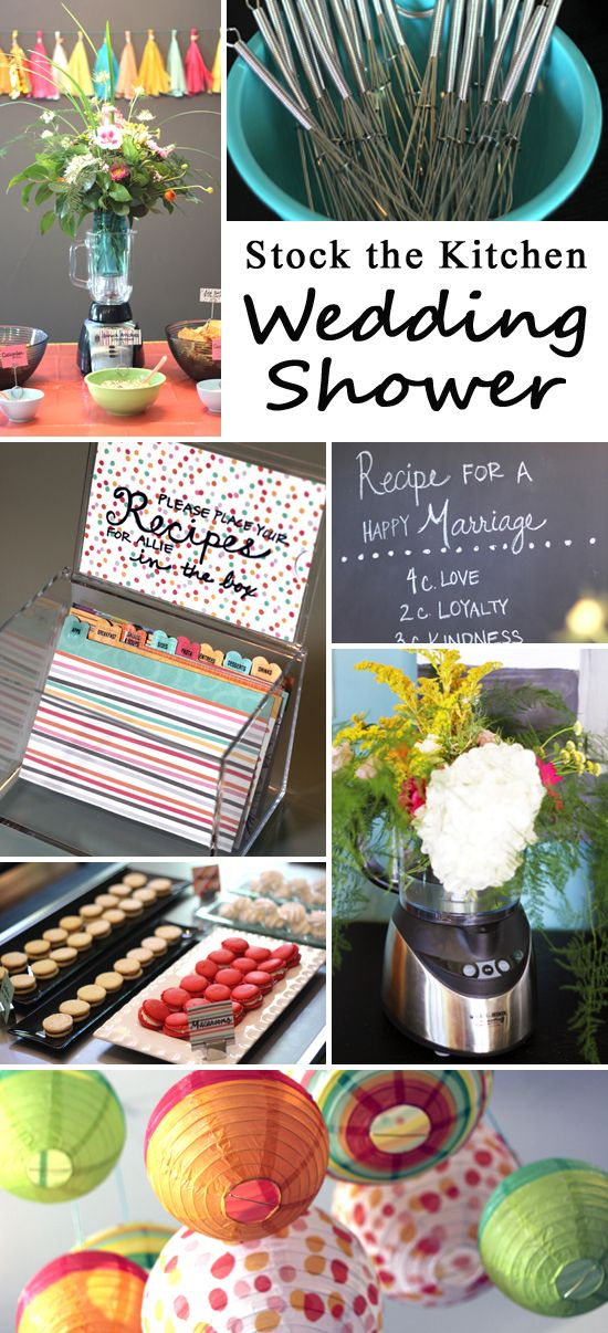 wedding shower game ideas pinterest%0A  entertaining with style  Stock the Kitchen Wedding Shower  Bridal Shower  ActivitiesBridal