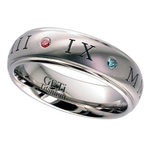 Titanium Rings by GETi - MyPersonalJewellery.co.uk