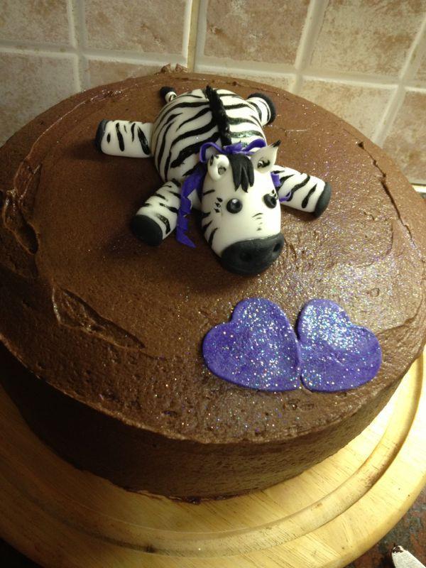Zebra cake - by Bridget