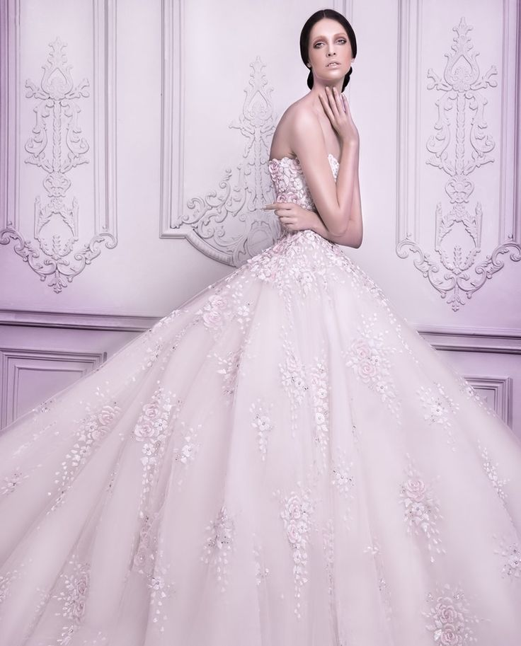 The 131 best Wedding Dresses images on Pinterest | Michael cinco ...