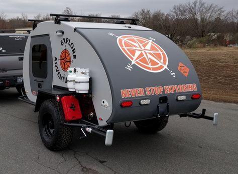 Inka Outdoor – Custom Teardrop Campers » Venture OHV™ & Venture XC™
