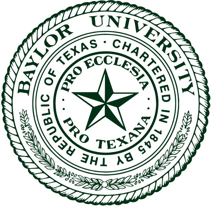 1845, Baylor University (Waco, Texas) #Waco (L8375)