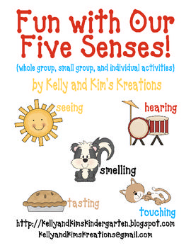 Fun with Our Five Senses is a learning pack that will help students learn more about seeing, hearing, smelling, tasting, and touching. An introduction to the five senses to stimulate student discussion, a small group sorting activity, and an individual interactive predictable text book are all included! Your students will learn more about their five senses in science, while enriching their listening, expressive and receptive language, math classification, & early reading skills. $2.00