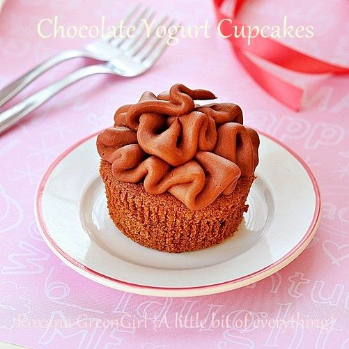 Chocolate Yogurt Cupcakes - A rich chocolate cupcake made with dark chocolate and Greek yogurt for a sweet afternoon or after-dinner treat.Chocolates Greek, Home Baking, Chocolates Yogurt, Chocolates Cupcakes, Chocolates Desserts, Cupcakes Chocolates, Yogurt Cupcakes, Healthy Recipe, Greek Yogurt