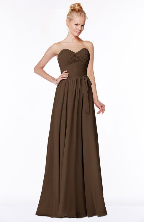 62 best images about brown weddings on pinterest a line for Brown dresses for a wedding