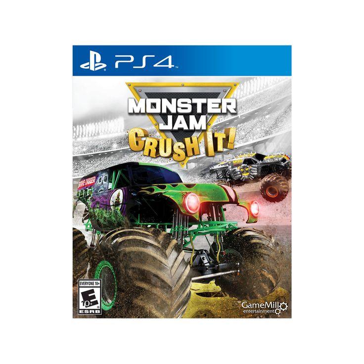 Monster Jam: Crush It! PlayStation 4