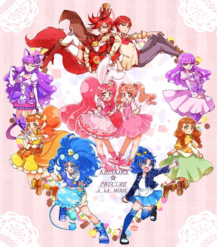 Kirakira☆Precure a la Mode's Alter egos // So familiar, yet so different