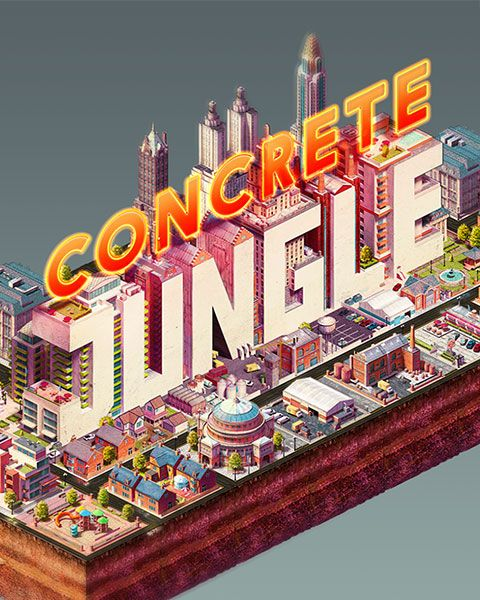 Concrete Jungle is now available on FireFlower. Concrete Jungle is a new take on the city building genre that swaps micro-management for a more strategic and puzzle-orientated style of city planning. It's basically a city planning deck-building game! http://fireflowergames.com/shop/concrete-jungle/