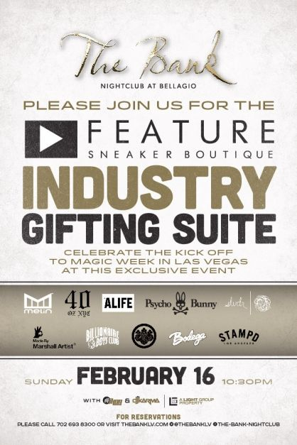Feature Sneaker Boutique Industry Gifting Suite