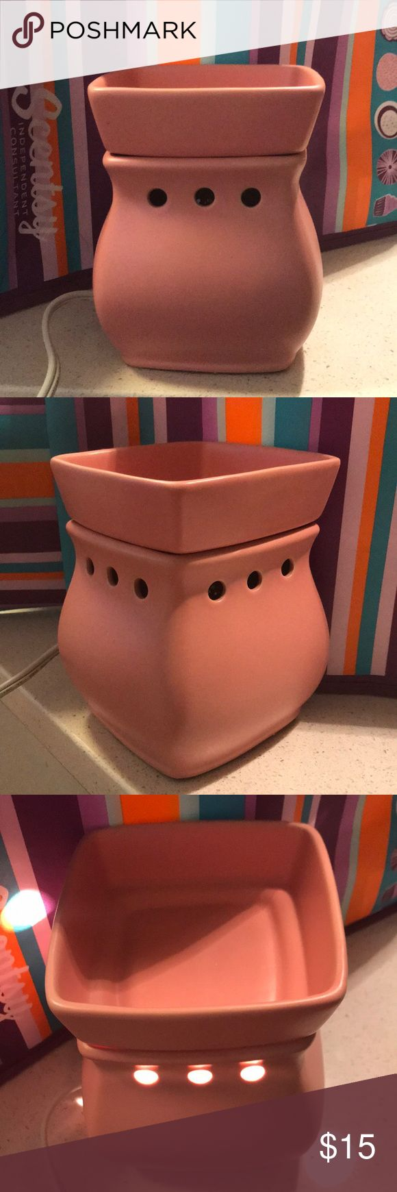 I just added this listing on Poshmark: Pink Scentsy Warmer - Never Used!. #shopmycloset #poshmark #fashion #shopping #style #forsale #Other