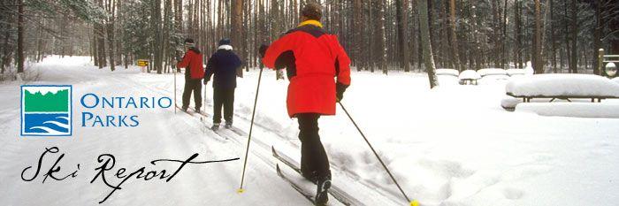 Ontario Parks Ski Report