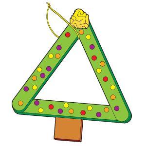 Triangular Tree  The Mailbox.com | Home of the #1 Idea Magazine for Teachers ®