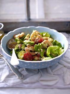 Unser beliebtes Rezept für Avocadosalat mit Garnelen und mehr als 55.000 weitere kostenlose Rezepte auf LECKER.de.