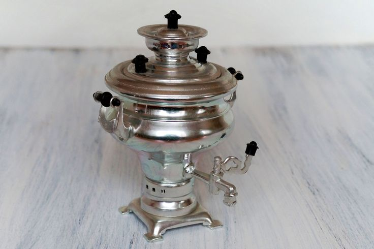 Russian Samovar Miniature Russian Souvenir Traditional Teapot Small Samovar USSR 1970's by Retronom on Etsy