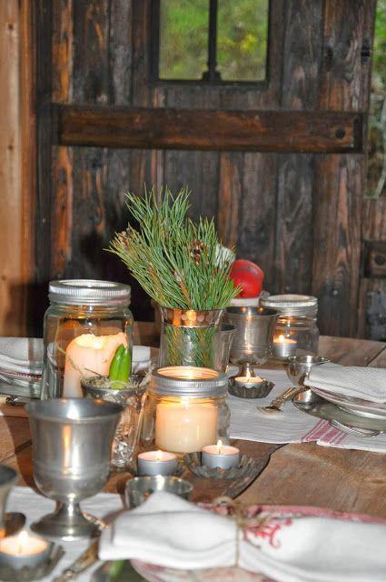 Christmas in the barn at Husmannsplassen i Hidlesundet