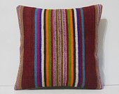 16x16 wholesale throw pillows DECOLIC moroccan cushions cheap cushion covers kilim pillows cute throw pillows red 14207 kilim pillow 40x40