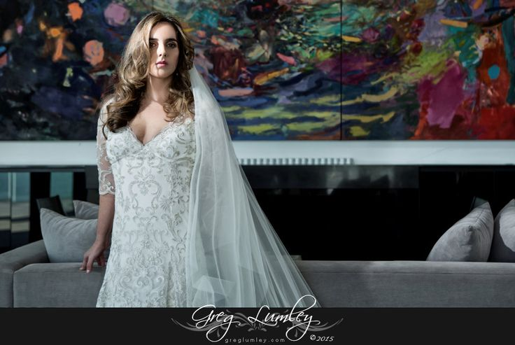 Beautiful Wedding dress.  Bridal portrait.  By Greg Lumley wedding photographer.
