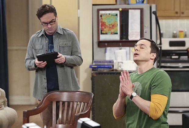 """The Opening Night Excitation"" -- After more than five years of dating, Sheldon (Jim Parsons, right) and Amy spend their first night together. Also, Leonard, (Johnny Galecki, left) Wolowitz, and Koothrappali must decide who will take their extra Star Wars movie ticket, on THE BIG BANG THEORY, Thursday, Dec.17 (8:00-8:31 PM, ET/PT), on the CBS Television Network. Photo: Michael Yarish/CBS ©2015 CBS Broadcasting, Inc. All Rights Reserved"