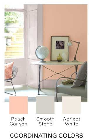 Good colors for the guest rooms Glidden  Peach Crayon25  best Glidden paint colors ideas on Pinterest   Neutral wall  . Glidden Exterior Paint Color Chart. Home Design Ideas
