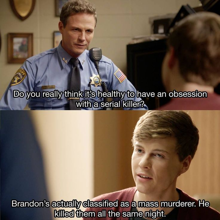 THROWBACK. Who's ready to get schooled (again) by the genius Noah Foster in Season 2?! #Scream