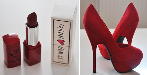 : Lipsticks, Fashion, Little Red, Red Shoes, Red Lips, Beautiful Shoes, Shoes 3, Heels, Little Black Dresses