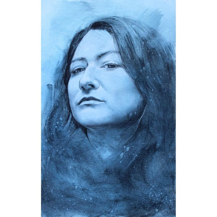 David Fooks - Q&S 47. Jess J Charcoal Portrait