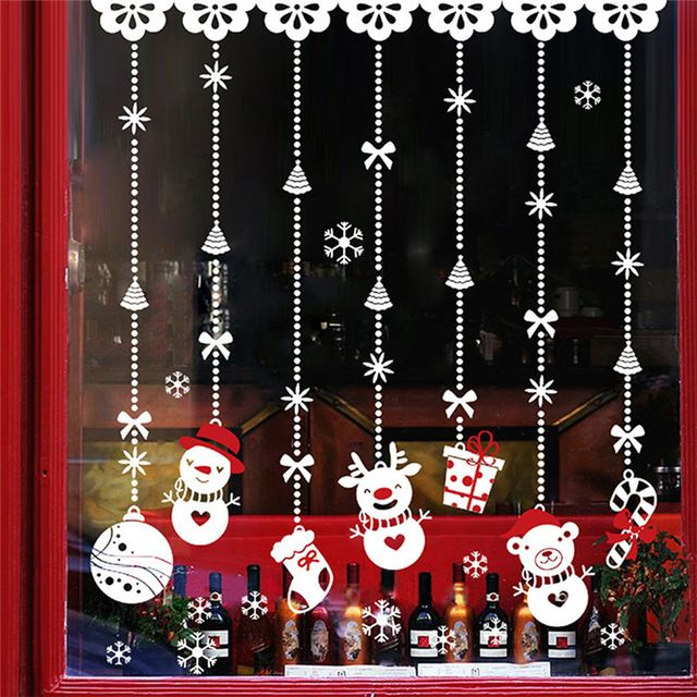 We love it and we know you also love it as well Clasic Hanging Snowman Gift Christmas window sticker PVC Xmas home wall back ground sticking stickers drop ship sale just only $4.69 with free shipping worldwide  #wallstickers Plese click on picture to see our special price for you