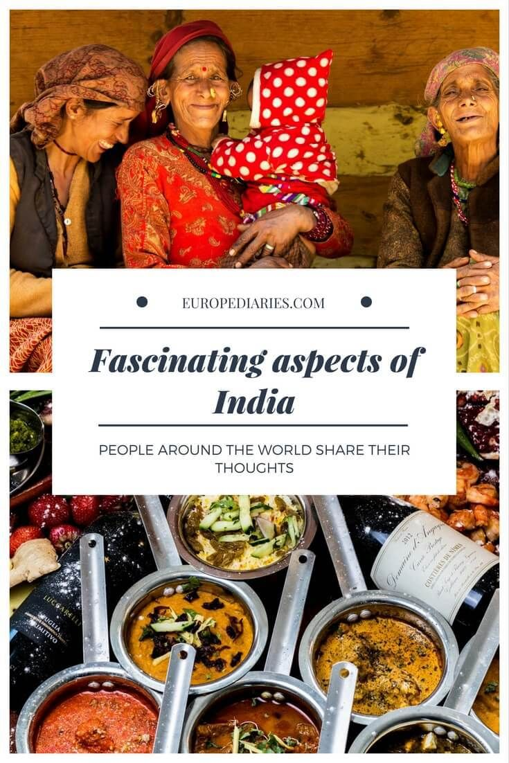Unique and fascinating things about India, according to people from different countries. - #india #culture #unique #travel #asia #food