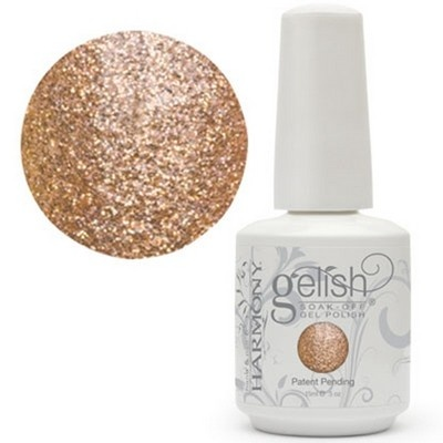 Love this color! Never going back to regular nail polish again. Gelish Bronzed