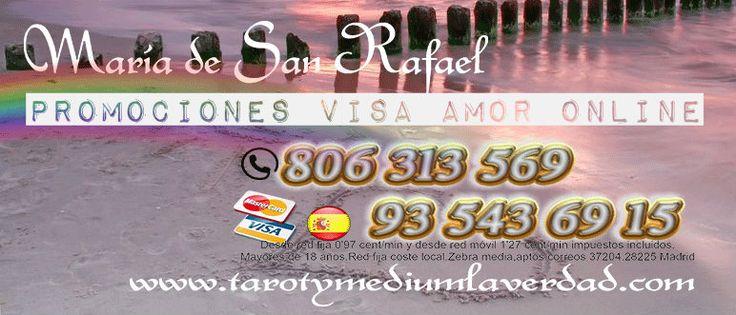 Entra en www.tarotymediumlaverdad.com y beneficiate de nuestras promociones diarias de visa amor online siempre con minutos de regalo seguro. # tarot # amor # verdad # medium # maria # san # rafael #