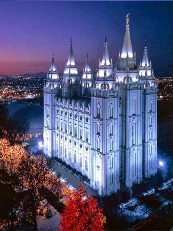 Salt Lake Temple, Utah
