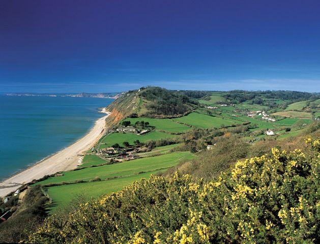 Branscombe Beach - East Devon Area of Outstanding Natural Beauty
