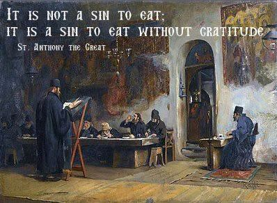 St. Anthony on gratitude