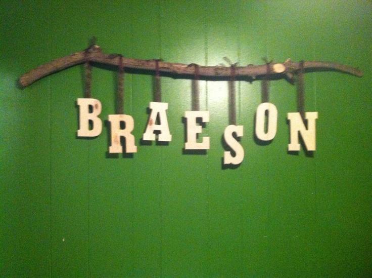 Baby name decor