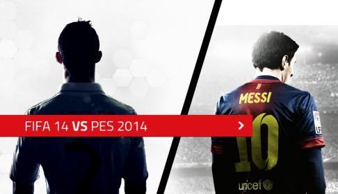 Sizce Hangisi? Fifa 14 mü yoksa PES 14 mü?