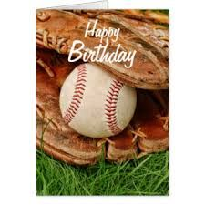 Resultado de imagen para baseball happy birthday images