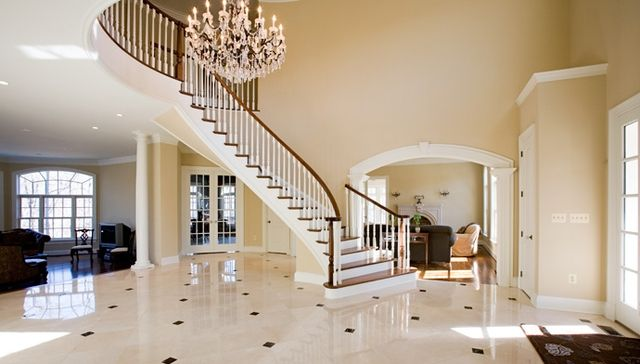 Crema Marfil Marble Floor Here Is The House Pinterest