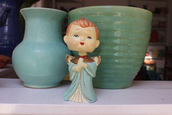 Angel Bobble Head Chrismas decoratie krijt Ware door Plantdreaming