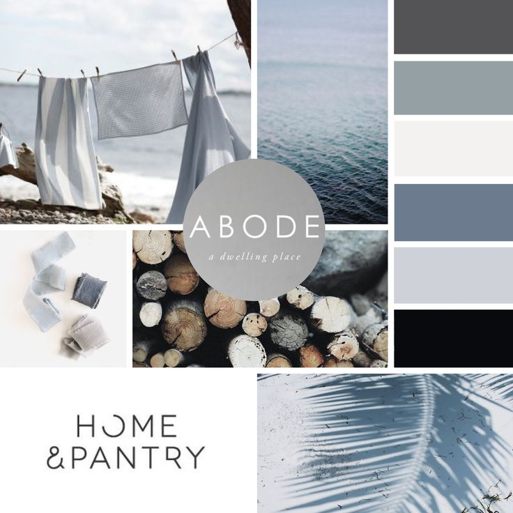 MOODBOARD for Beachwood Designs.