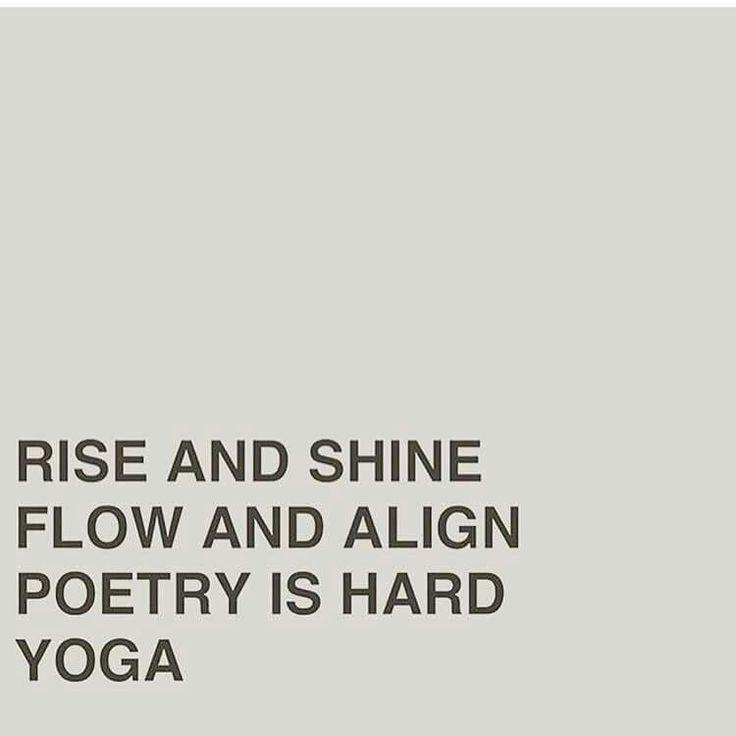 Yoga quote lol. More