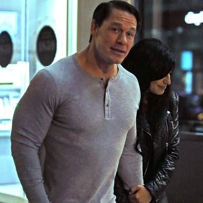 March 29 2019 Wwe Superstar John Cena Was Seen Cuddling With A Shay Shariatzadeh During A Four Hour Dinner D Wwe Superstar John Cena John Cena New Girlfriend