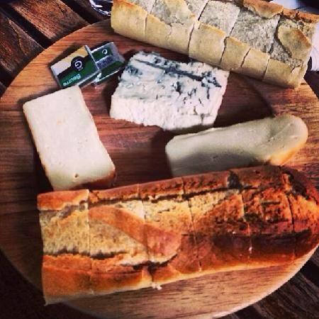 Cheese Platter at Gordon's Wine Bar, London