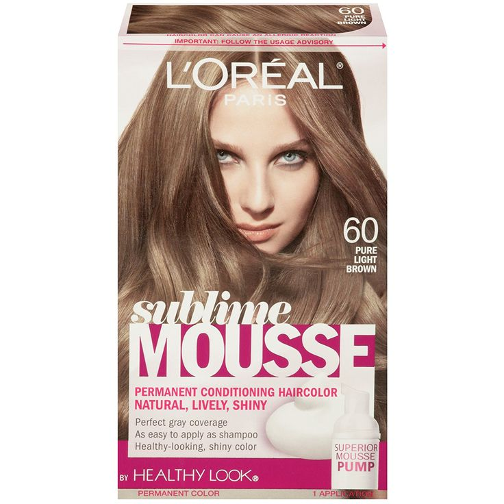 L oreal Sublime Mousse Hair Color - Best at Home Semi Permanent Hair Color Check more at http://www.fitnursetaylor.com/l-oreal-sublime-mousse-hair-color/