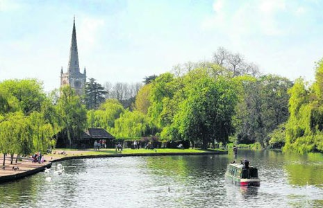 stratford-upon-avon - loved this town. Hopefully I will go back there some day.