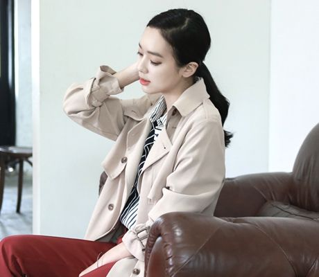 Loveliness of the female clothing shop. [Whitefox] Fucking Barbary CT / Size : FREE / Price : 69.73 USD #korea #fashion #style #fashionshop #apperal #koreashop #ootd #whitefox #outer #coat #bby #dailylook