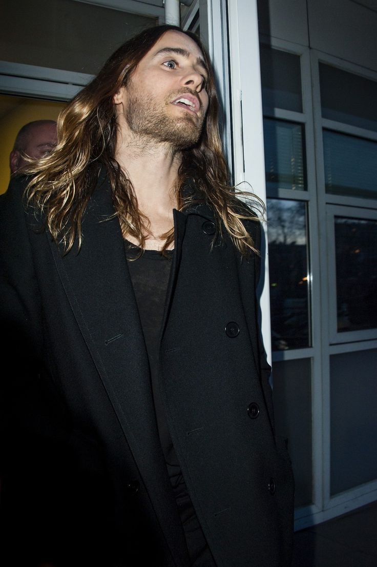 Jared Leto and his locks are out of this world.