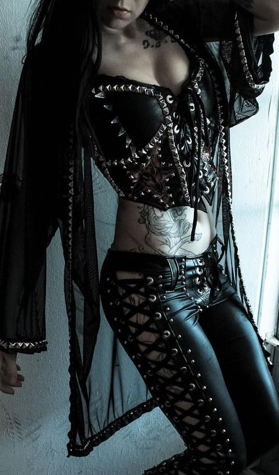sweetlycreepy:    I WILL have these lace up pants following my Summer of working non-stop.  I will.    Toxic Vision